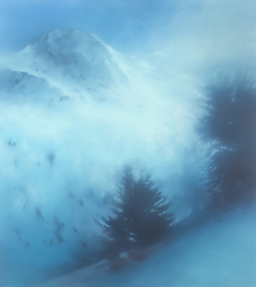 Alpine Peak 135 x 120cms