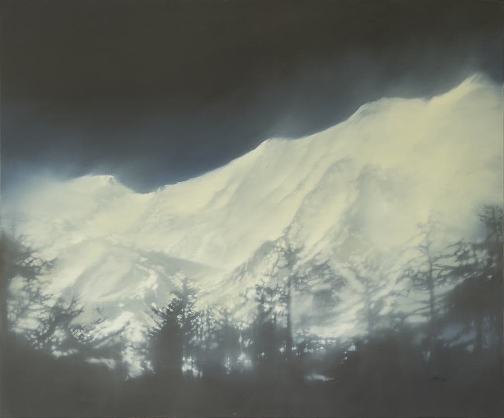 Snow Blown 100 x 120cms canvas